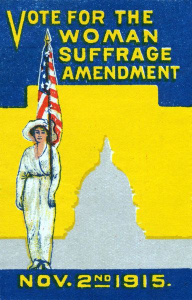 1915 Vote For Woman Suffrage Amedment Poster Protest Posters Suffrage Women In History