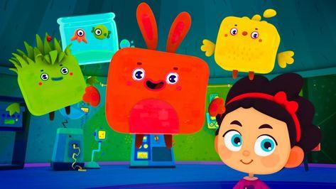 Cutie Cubies - First Contact - Funny cartoon for kids Kedoo ToonsTV