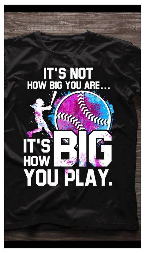 Softball Tshirts, Softball Crafts, Softball Quotes, Girls Softball, Softball Players, Fastpitch Softball, Softball Cheers, Softball Stuff, Volleyball Drills