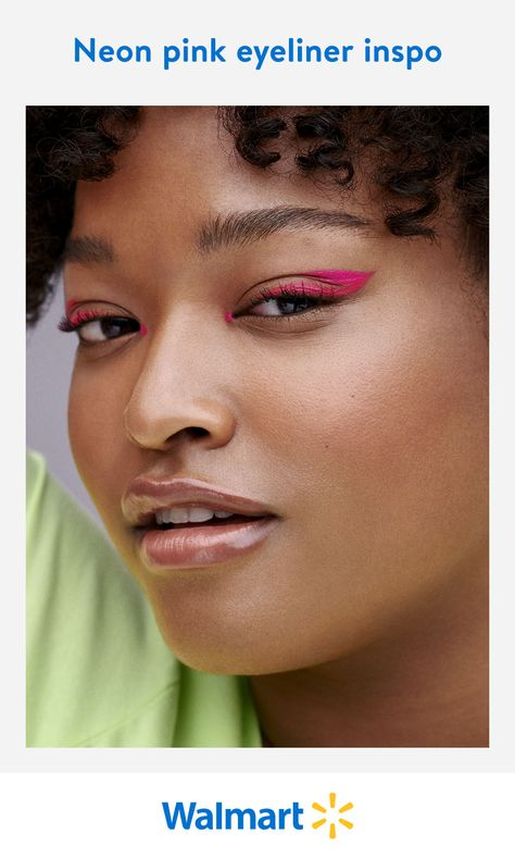 Brush up on the latest eye makeup trend and get creative with graphic eyeliner. Let the latest neon hues from Walmart Beauty inspire your next go-to look.