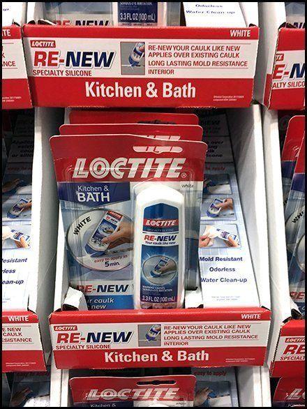 Loctite Leverages Brand Kitchen And Bath Caulk Plv