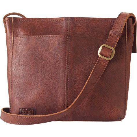 c91e6fed5 Women s Lifetime Leather Medium Sling Bag - Duluth Trading   WomensShoulderbags