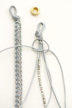 Leder Armband DIY...AGAIN                                                                                                                                                                                 Mehr