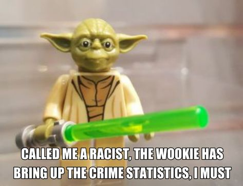 Funny, this is : Legoyoda