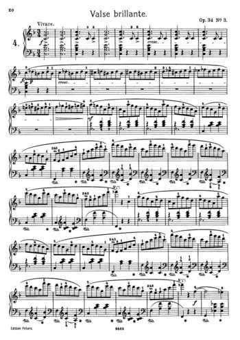 Op 64 No 2 Free Sheet Music By Chopin Pianoshelf Free Sheet Music Sheet Music Music