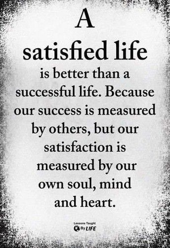 Self Satisfaction Quotes
