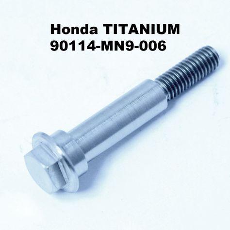 Transalp TITANIUM caliper to fork bolts