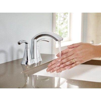 Moen 6172 Centerset Bathroom Faucet With Metal Pop Up Drain