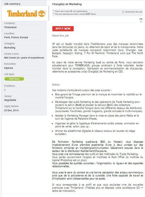 Responsable De RayonFloor Manager HF  Landersheim At Adidas