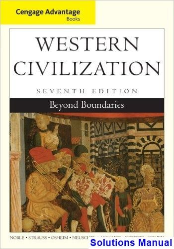 Western Civilization Beyond Boundaries 7th Edition Noble