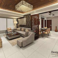 Living And Dining Area Asian Style Living Room By Homify Asian In