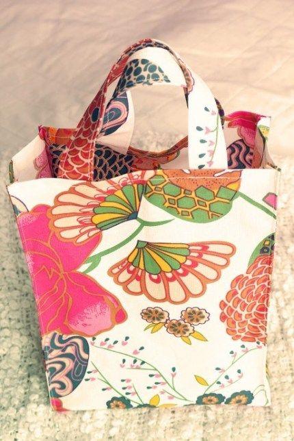 Sy en necessär   Väskmönster, Mönster på väska och Sy väska