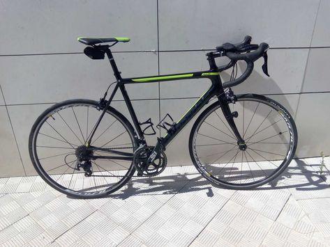 d2c6d6a8403 Bicicleta de carretera Cannondale Supersix Evo 105. Ref: 37099. Talla 56.  Año