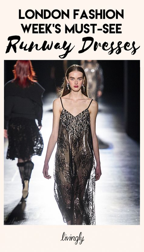 After New York Fashion Week delivered its share of Pinterest-worthy gowns, it was London's turn.