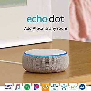 Echo Dot 3rd Gen Smart Speaker With Alexa Sandstone Echo Dot Alexa App Echo