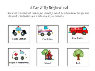 Free!! 5 page Community Helpers activity!