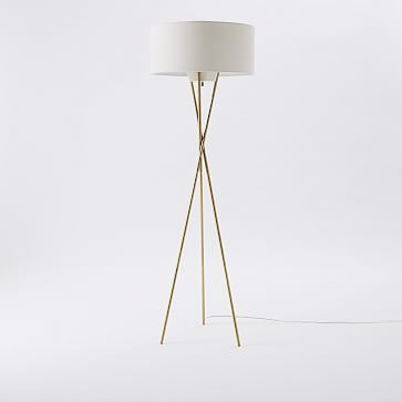 Celia Tripod Floor Lamp, Gold | Lamps | Pinterest | Tripod, Floor Lamp And  Visual Comfort