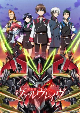 Kakumeiki Valvrave 2nd Season /// Genres: Action, Mecha, Space