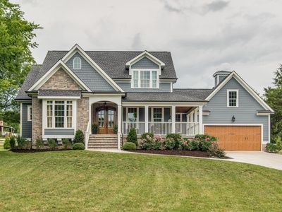 Recently Sold 606 250 2 Acres In Franklin Like New Custom Built Home W Natural Stone Hardip House Exterior Dream House Exterior Modern Farmhouse Exterior