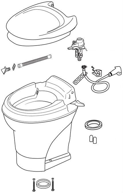 Shop For Rv And Marine Toilet Repair Parts Replacement Parts And