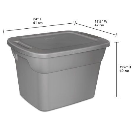 Home Sterilite Storage Bins Plastic Container Storage