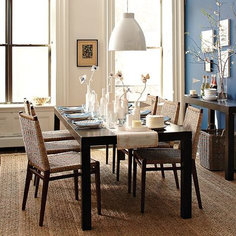 Parsons Expandable Dining Table West Elm Room