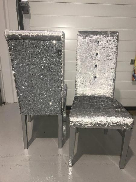 16+ Glitter dining table and chairs Various Types
