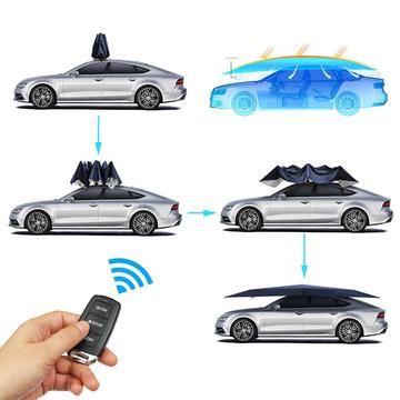 Manual Portable Umbrella Car Roof Cover Car Tent Car Covers Automatic Cars