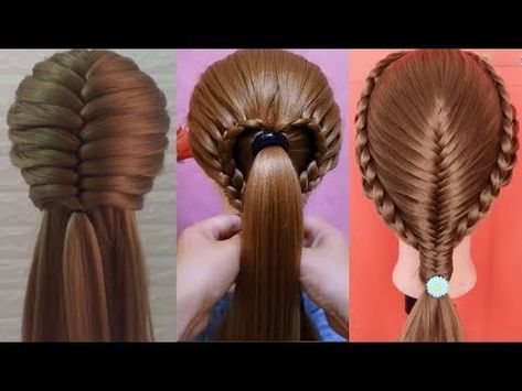 Beautiful Hairstyles 2019 25 Simple Easy Hairstyles Hair Style Girl Awesome Hairstyles P1 Youtube Easy And Beautiful Hairstyles Hair Styles Easy Hairstyles