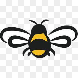 Cartoon Bee Design Png And Vector Bee Pictures Bee Clipart Cartoon Bee