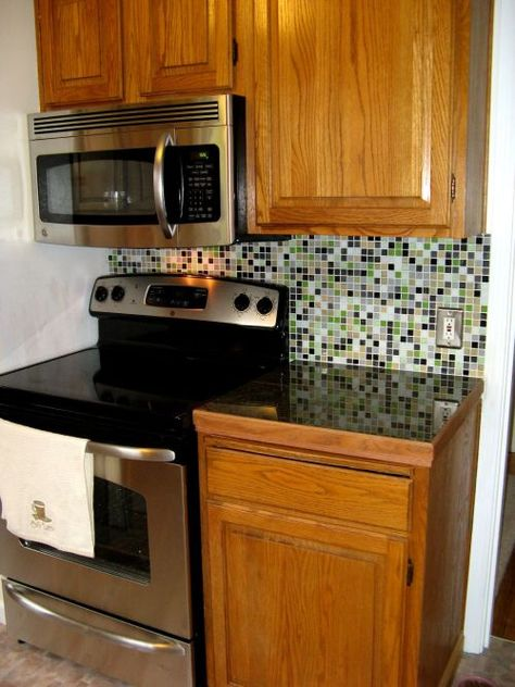 backsplash for stove