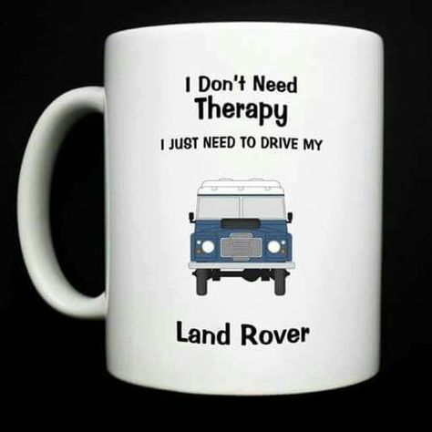 IDEAL GIFT LAND ROVER DEFENDER 90 // 110 PERSONALISED IF REQUIRED MUG