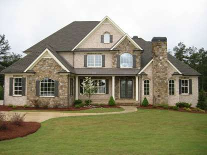 House Plan 286 00004 Early American Plan 4 138 Square Feet 4 Bedrooms 3 5 Bathrooms Brick Exterior House European House House Plans