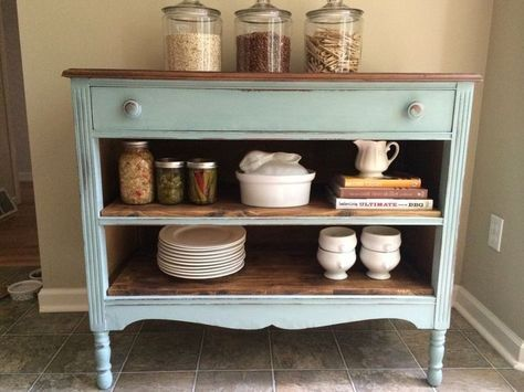 Repurposing Old Furniture be careful what you throw away — it could be your next kitchen