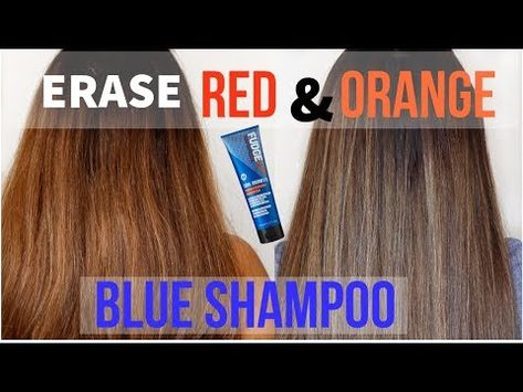 No Brassy Tones Blue Shampoo Shower With Me Youtube Blue