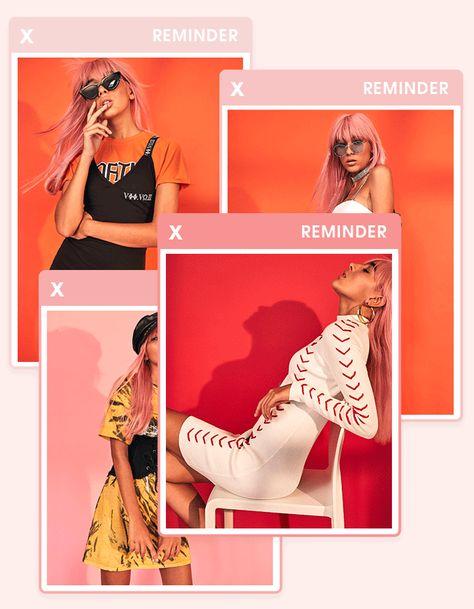 Дизайн постов для магазина одежды в Инстаграм