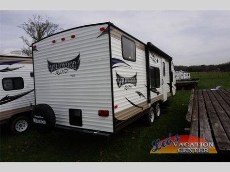 New 2016 Forest River RV Wildwood X-Lite 261BHXL Travel Trailer at Leo's Vacation Center | Gambrills, MD | #04150234