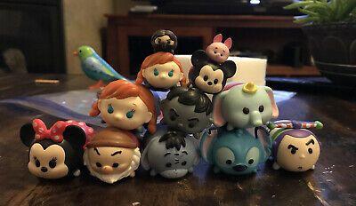Disney Tsum Tsum Figurines Lot Of 12 Stitch Minnie Mouse Buzz Dumbo Ebay In 2020 Disney Tsum Tsum Tsum Tsum Minnie