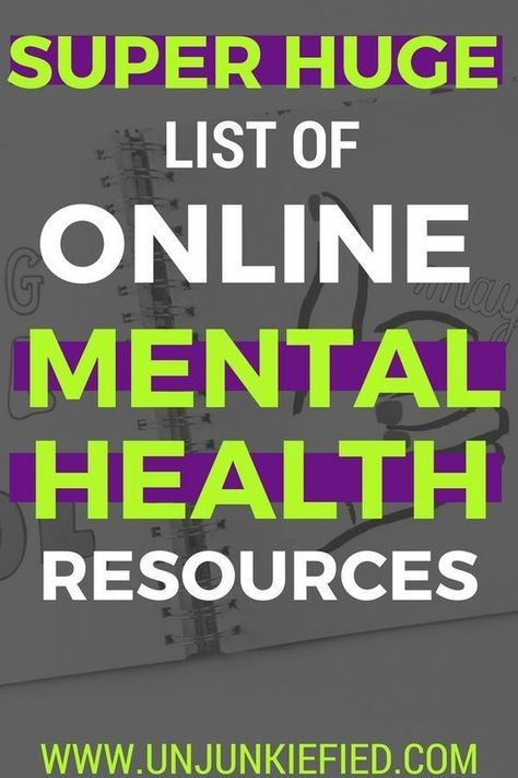 BEST MENTAL HEALTH ONLINE RESOURCES - COMPLETE GUIDE