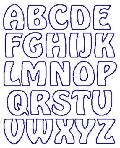 applique letter templates free - Google Search