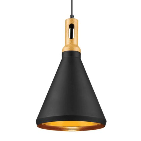 Matte Black Single Light Pendant In 2020 Lighting Pendant