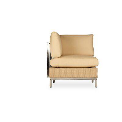 Lloyd Flanders Elements Corner Sofa With Cushions Frame Color Ash