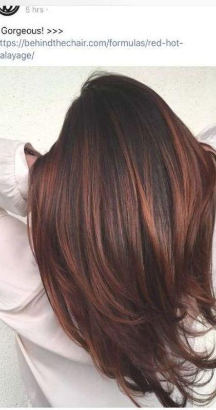 Hair Red Brown Dark Brunettes 61 Best Ideas Hair Hair Color Auburn Hair Color Highlights Brown Auburn Hair