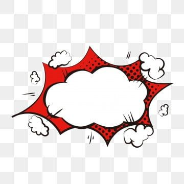 Cartoon Cute Explosion Cloud Dialog Bubble Border Material Element Cartoon Lovely Explosion Cloud Png And Vector With Transparent Background For Free Downloa In 2020 Doodle Frame Watercolour Texture Background Dialogue Bubble