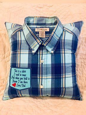 T Shirt Memory Pillow