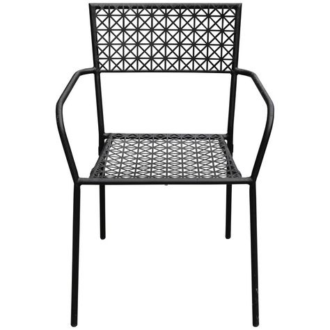 Stupendous Dorian Metal Stacking Chair Black In 2019 Patio Patio Pdpeps Interior Chair Design Pdpepsorg