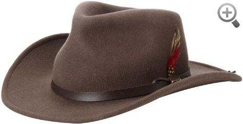 941d884d Scala Classico Men's Crushable Felt Outback Hat #Scala #Classico #Mens  #Crushable #Felt #Outback #Hat