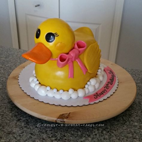 Cutest Rubber Ducky Cake...