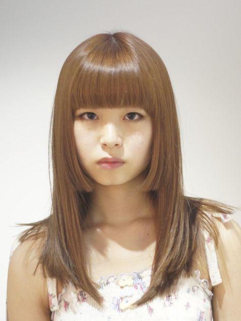 お人形さんみたいな可愛さ♡姫カットで作るドーリーガールのヘアカタログ|マシマロ