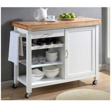 48 Trendy Ideas Kitchen Island Contemporary Drawers White Kitchen Cart White Modern Kitchen Kitchen Cart